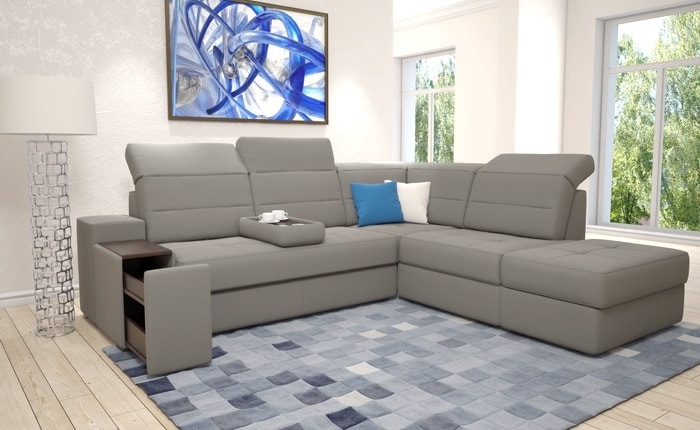 Corner sofa Aliot